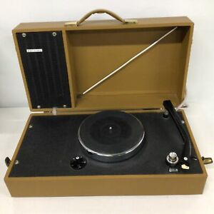 Vintage Philips Boxed Turntable With Speaker #544