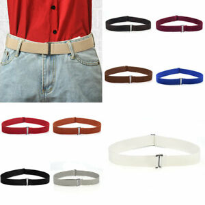 Women No Show Invisible Corset Belts Adjustable Skinny Elastic Waistband Belts