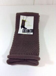 NEW HUE Women's Leg Warmer, One size, Brown.  Retails $14.00