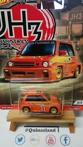 Hot Wheels Japan Historics 3 HONDA CITY TURBO II 1985 (NG87-88)