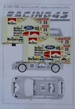 DECALS 1/43 FORD FOCUS WRC MARLBORO RALLY SANREMO 2000 S159