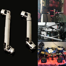 2pc Steel Center Drive Shaft For Axial SCX10 1:10 RC Car Crawler Speed 90-115mm