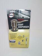 Danco 10040 Microban Curved Soap Dispenser Brushed Nickel Built In Soap Dispense