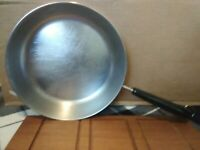 "Vintage Revere Ware Copper and Stainless Steel 9"" Skillet 90a Fast Ship Cookware"