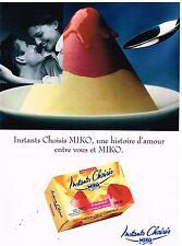 Publicité Advertising 1996 Les Glaces Parfait de Miko