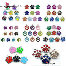 Wholesale Dog Paw ID Tag Disc Engravable Multi Type Disk Blank Tags for Pets