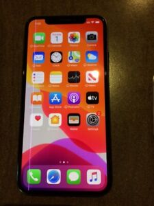 iPhone X Oled Screen Replacement with a purple line for parts or use
