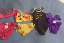 5 Stk. BADEMODE ~ Mädchen ~ Gr. 98/104 ~ Bikinis, Badeanzug, Bademantel (116)