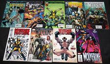 Marvel WOLVERINE & WOLVERINE ORIGINS 64pc Mid-High Grade Comic Lot VF-NM X-Men
