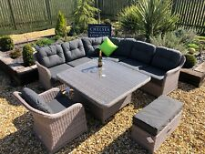 Rattan Garden Furniture Luxury Sofa Set