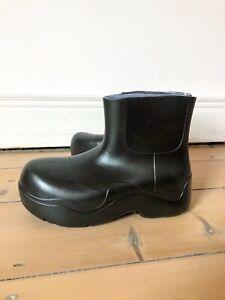 Unbranded Bottega Rubber puddle boots in Black UK4 EU37 veneta chunky
