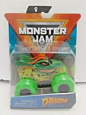 Dragon (Nitro Neon) 2020 Spin Master Monster Jam 1:64 Scale Truck +VIP Wristband