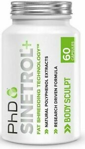 PhD Nutrition Sinetrol Plus 60 Capsules Weight Management Body Supplement