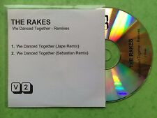 THE RAKES - We Danced Together - Remixes - CD Single - 2 Track Promo