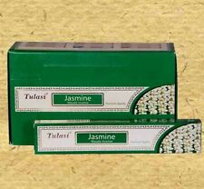 Tulasi Jasmine Incense Sticks / Agarbatties / Joss Sticks 12pack of 15g each