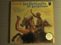 VERDI LA BATTAGLIA DI LEGNANO 2LP BOX SET 78 PHILIPS 6700-120 CLASSICAL OPERA NM