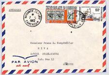 CA103 1982 Cameroon *YOKO MISSION CATHOLIQUE* Cover Austria MISSIONARY VEHICLES