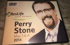reslife perry stone may 3&4 2014 DVD SET-TESTED-RARE VINTAGE COLLECTIBLE-SHIP24H