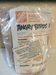 The Home Depot Angry Birds Birdhouse Kids Worshop New