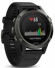 Garmin Fenix 5 Montre Multisport GPS Smartwatch Gris Ardoise
