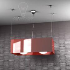 SOSPENSIONE TOP LIGHT MODELLO LOFT 1112/S - RO (ROSSO)