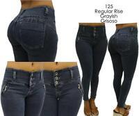 Levanta Cola Franka Push Up Jeans Greyish Skinny Jeans