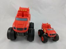 Mattel Blaze and the Monster Machines Car Vehicle Lot of 2 2014