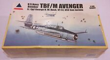 NEW 2004 ACCURATE MINIATURES 1/48 TBF/M AVENGER Lt. GEORGE W. BUSH VT-51 #480120