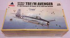 NEW 2004 ACCURATE MINIATURES 1/48 TBF/M AVENGER Lt. GEORGE W. BUSH VT-51 #480120