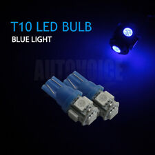 10x Blue T10 5050 LED Park Number Plate Lights For Ford Falcon AU BA BF FG XR6
