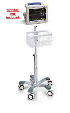 Rolling stand for Welch-Allyn Propaq CS Patient monitor new (big wheel )