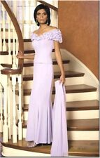NWT Daymor 2003 Mother of bride MOB Mothers formal occasion dress cameo rose 8