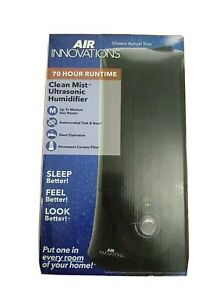 Air Innovations 1.1 Gal Clean Mist Ultrasonic Humidifier Medium Rooms MH-408 New