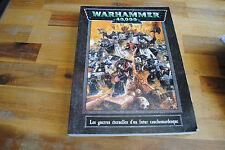 Livre WARHAMMER 40000 40K LES GUERRES ETERNELLES D'UN FUTUR CAUCHEMARDESQUE