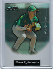 2004 Bowman Sterling Refractor OMAR QUINTANILLA #113/199 #OQ (2137)