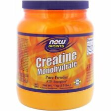 Now Foods Sports Creatine Monohydrate Pure Powder 2.2 Lbs (1 Kg)