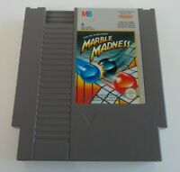MARBLE MADNESS NINTENDO NES VIDEO GAME CARTRIDGE ( TESTED AND WORKING ) PAL A