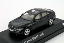 BMW 4 Series Gran Coupe Black, official dealer model scale 1:43, new car gift
