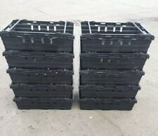 More details for *** special offer *** 5 x bail arm crates / bale arm plastic stacking boxes