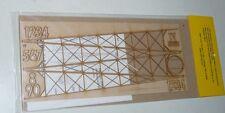 TV Radio Funk-turm 2516 H=300 mm Sp. H0 Laser-Cut Holz