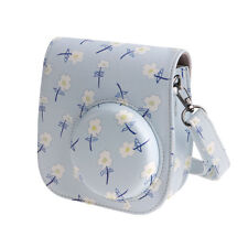 Leather Floral Case Cover Shoulder Bag For Fujifilm Fuji Instax Mini 8 Camera
