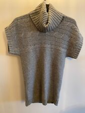 Uniqlo Womens Grey Knit Jumper Size small NWOT