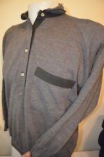 Outrage Ski Extreme Winter Snow Men M Raglan Sweatshirt Polo Shirt ITALY VTG 70s