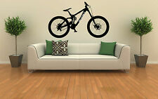 Ghost Downhill Mountain Bike Wall Art Vinyl Decal Sticker Removable Graphic XL