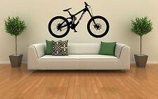 Ghost Downhill Mountain Bike Pared Arte Vinilo Decal Sticker Removible Gráfico Xl