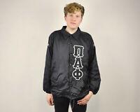 RENEGADE Vtg Men's L Black Jacket Outdoors Sportswear Windbreaker Rain Coat Top