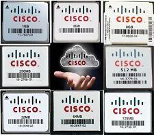 Cisco Genuine CF CompactFlash Memory Card  32MB 64MB 128MB 256MB 512MB 2GB 8GB