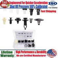 146Pcs Plastic Rivet Fender Door Hood Bumper Trim Body Clip Retainer For Toyota