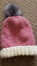 LADY'S HAND KNITTED HAT