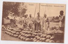 K 814 - China, Wassermelonen-Markt, Verkäufer, ungelaufen
